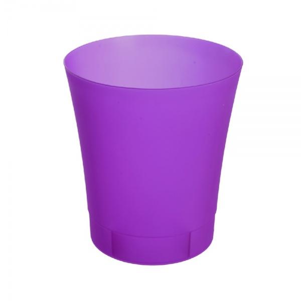 AZ-41150 Kvetinový obal 12,5cm fialový transp. ORIDEA