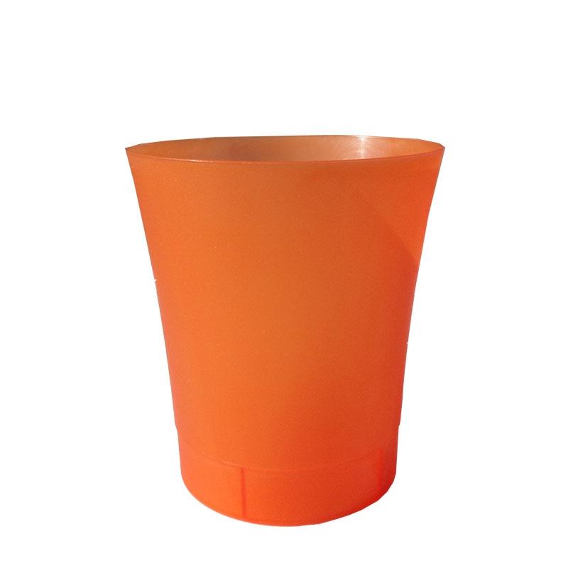 AZ-5601 Kvetinový obal 12,5cm oranžový transp. ORIDEA