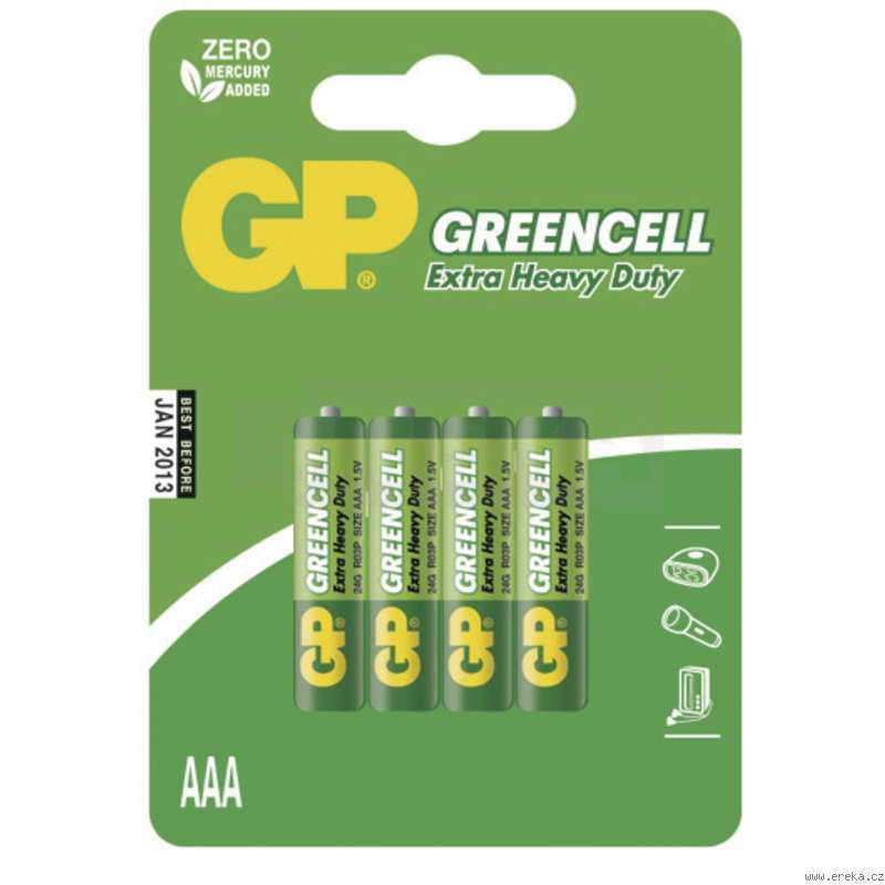 B-R03L4B  Baterka GP mikro tužka